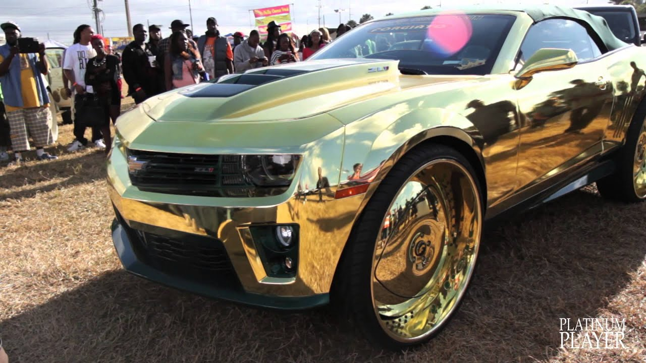 Most Expensive Vehicles In The World >> INCREDIBLE GOLD CAMARO- CENTRAL FLORIDA SERIES - YouTube