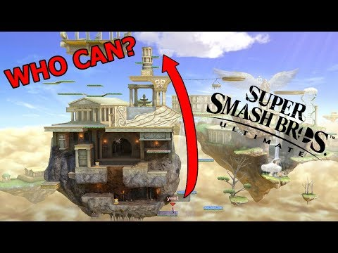 Who Can Make the HIGHEST Jump in Smash Bros HISTORY? - Smash Ultimate thumbnail
