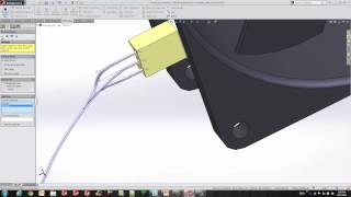 SOLIDWORKS Routing-Electrical - Cables(See More: http://www.goengineer.com/products/solidworks-electrical-2/ Learn how to create a Cable route in 3D and produce a 2D flattened drawing of the ..., 2014-09-02T22:31:13.000Z)