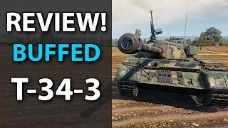 T-34-3 - Buffed! Review - World of Tanks