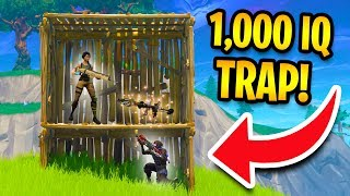 EPIC 1000 IQ TRAPS in Fortnite Battle Royale!
