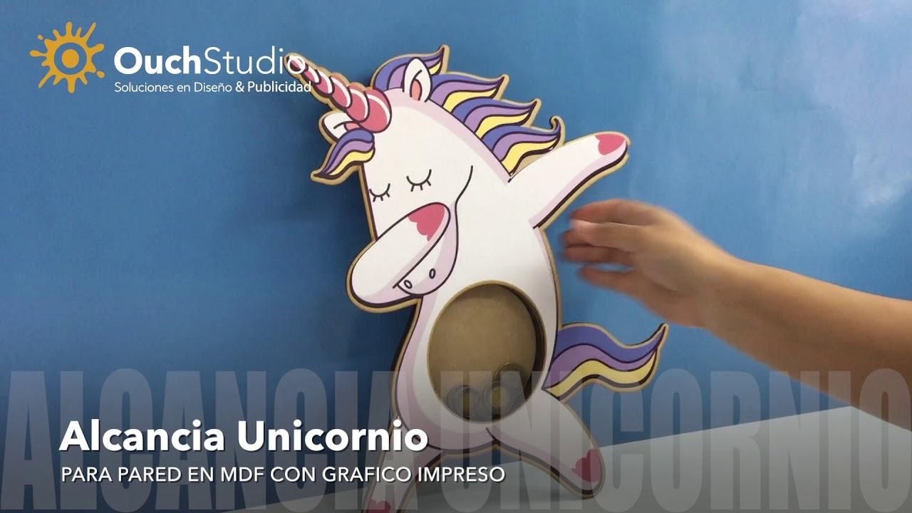 Unicornio Mágico Personalizado Lasercut Mdf atrapasueños cualquier nombre