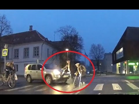 Man tries to help pensioner cross road but it backfires