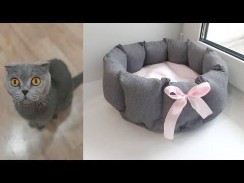 Лежанка для кошки своими руками выкройка