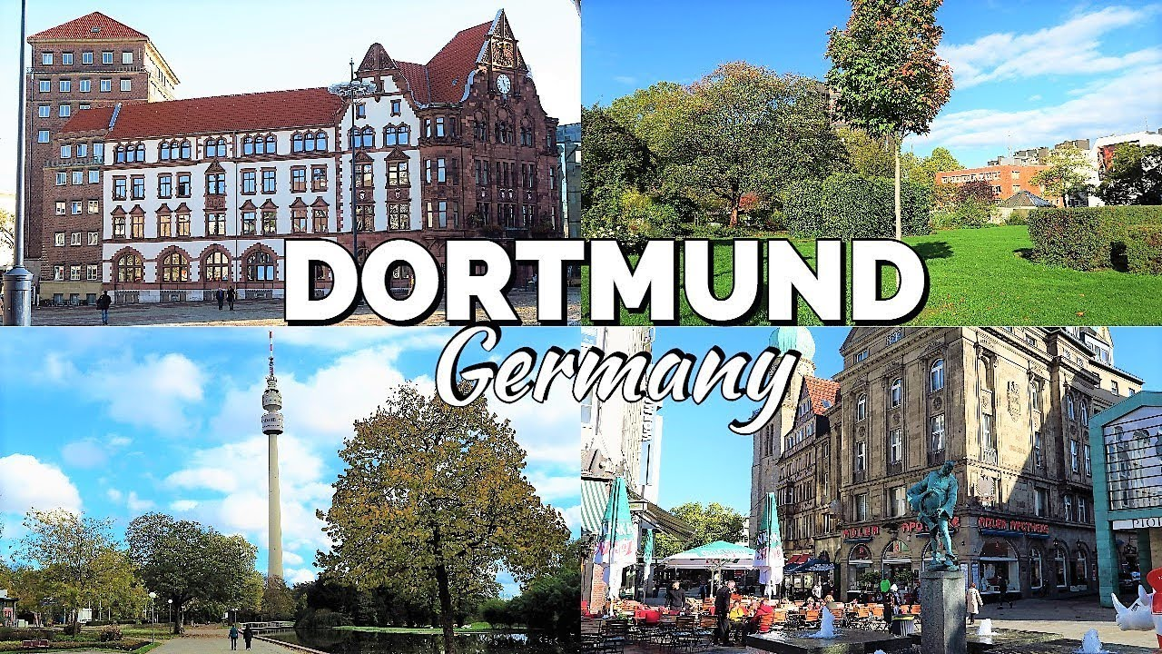DORTMUND CITY TOUR / GERMANY - YouTube