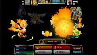 Monster Legends Scorchpeg Special Skill Asteroid Lance