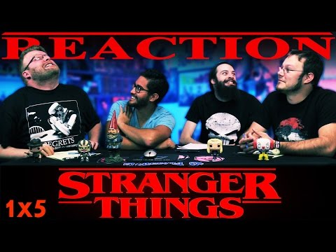 "Stranger Things ""Chapter Five: The Flea and the Acrobat"" REACTION!!"