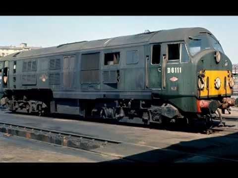 British Railways 1960's Diesels Type 1's & 2's In Scotland