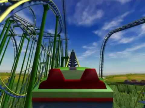 The Longest Roller Coaster I've Ever Made on Roller Coaster Tycoon 3 PC Game
