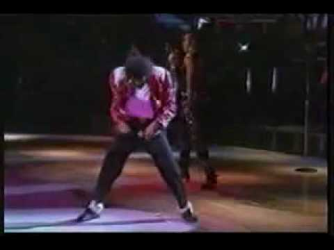 Michael Jackson Dancing to I Feel Good by James Brown