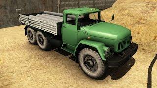 Водитель грузовика на безумной дороге 2 (Truck Driver: Crazy Road 2) // Трейлер
