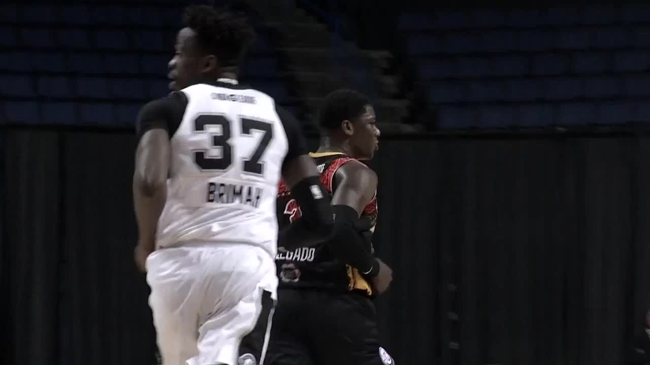 Angel Delgado with 21 Points vs. Austin Spurs