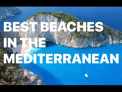 Top 40 Best Mediterranean Beaches 2017