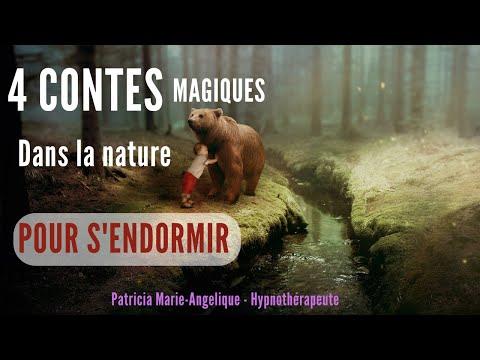 Méditation POUR ENFANT pour S'ENDORMIR 4 contes dans la nature