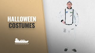 Aeromax Men Halloween Costumes [2018]: Aeromax Adult Astronaut Suit with Embroidered Cap, White,