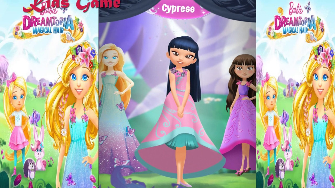 Barbie Dreamtopia Magical Hair Android And Iphone Apps For