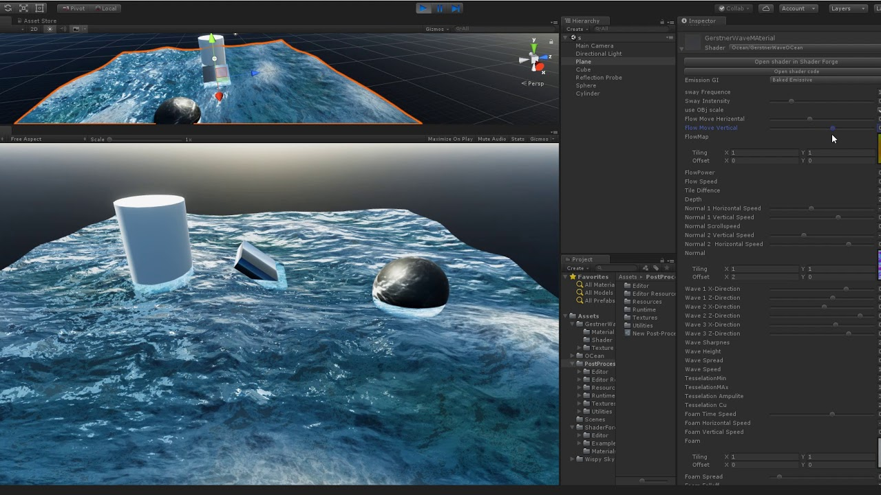 Unity Ocean Shader