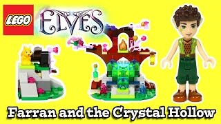 Lego Elves Farran And The Crystal Hollow (41076) Review