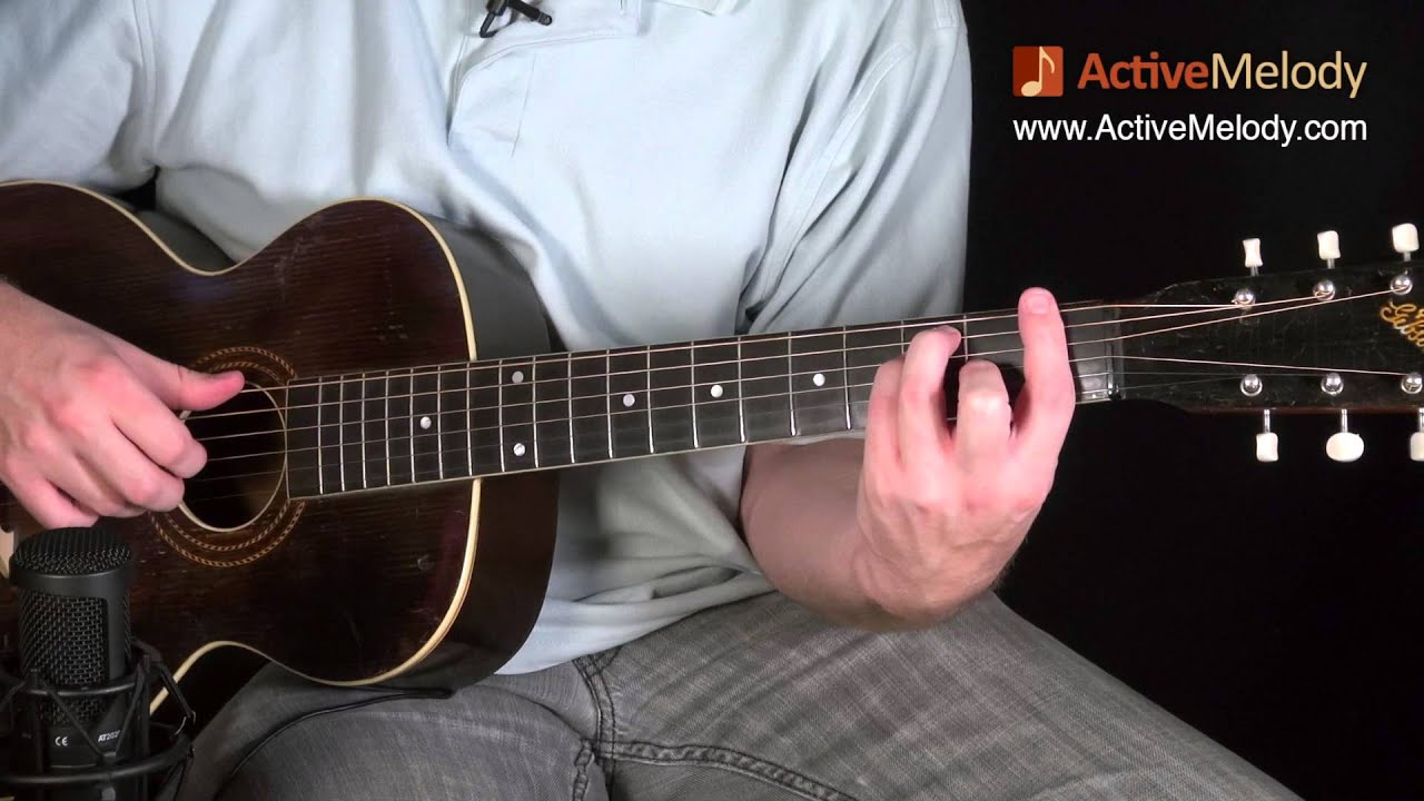 ep007 how to play amazing grace on the guitar lesson from