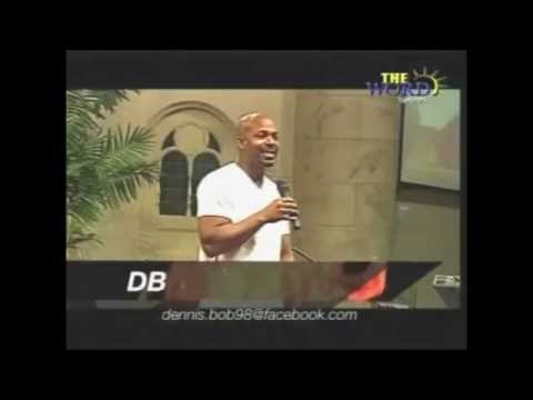 "DB performing his hit single ""SEE"" on the Word Network"