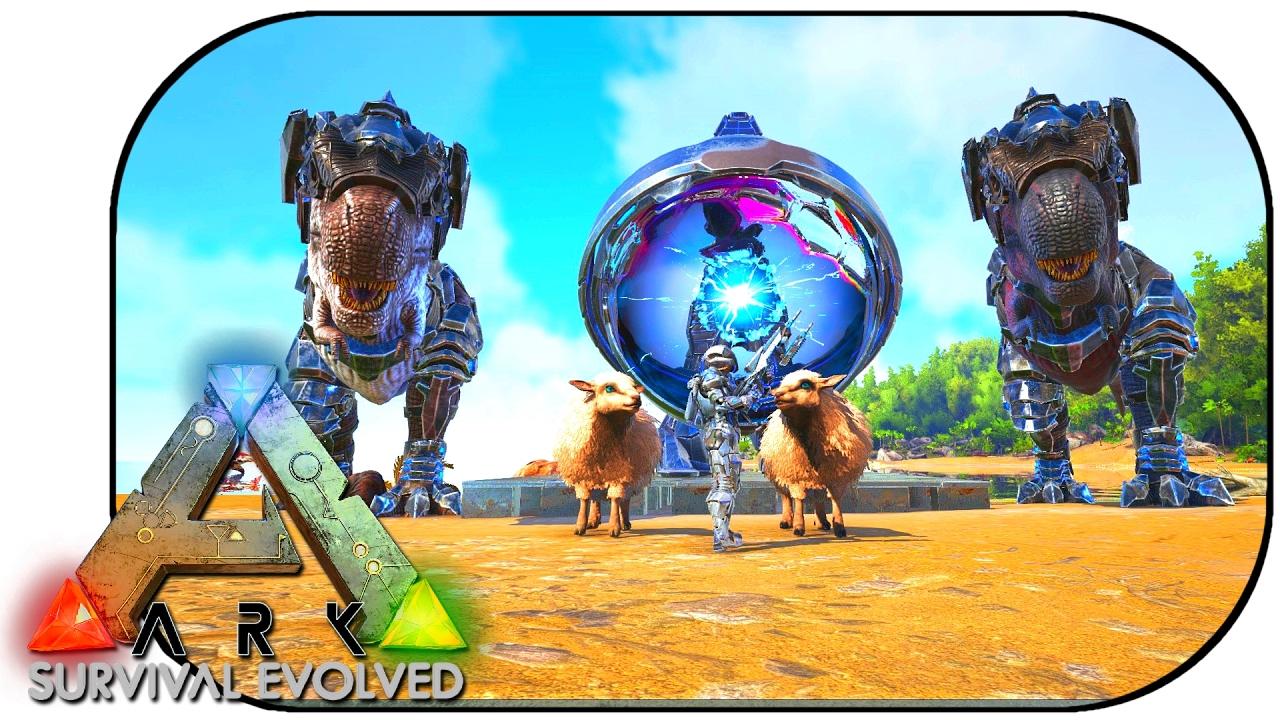 Tek tier tek rex saddle ovis jousting ark update 254 youtube malvernweather Images