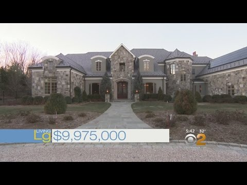 Living Large: Regal Stone Mansion In Westchester