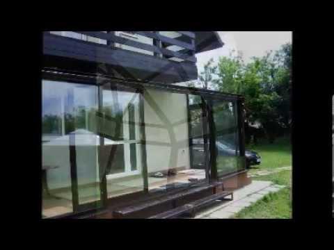 Terase inchise din sticla acoperiri terase verande din for Case cu terase