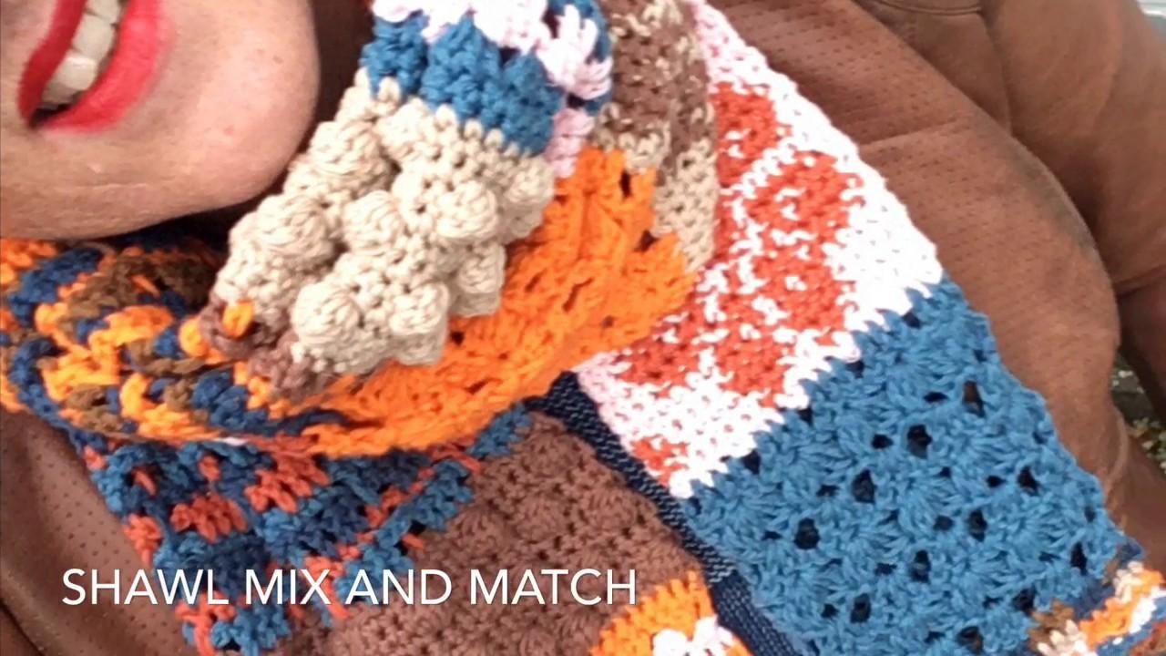 Patroon 3 Van Shawl Mix Match Handmade By Juf Sas Met Gratis