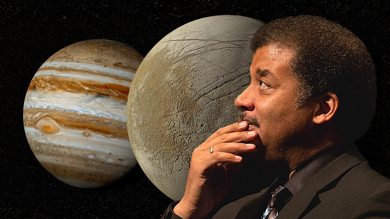 Neil deGrasse Tyson: Life on Europa, Jupiter's Moons, Ice Fishing and Racket Sports