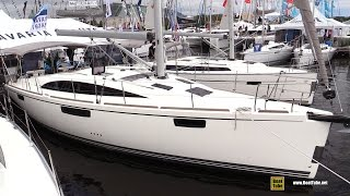 2017 Bavaria Vision 42 Sailing Yacht - Deck and Interior Walkaround - 2016 Annapolis Sail Boat Show
