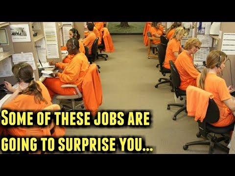 Top 5 Craziest Prison Jobs You Never Knew Existed...