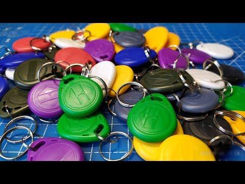 RFID ключи и дубликатор для домофона