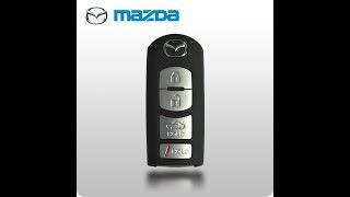 Фото Mazda 6   замена батарейки брелка