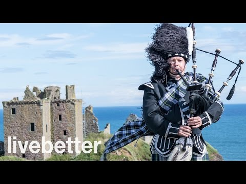 Música escocesa tradicional instrumental de gaita celta alegre
