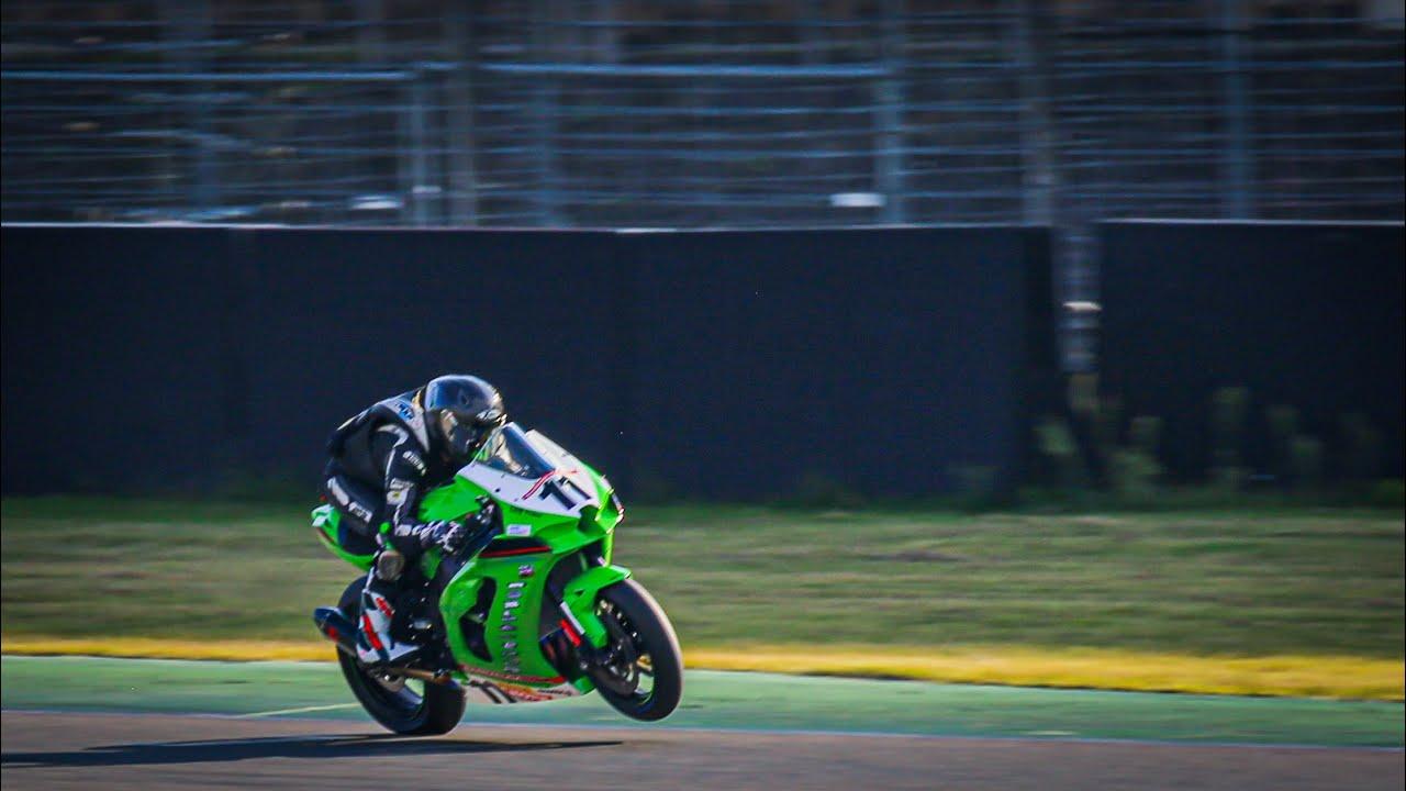 IDM Finale mit einem Superbike - Kawasaki ZX- 10 R 2021 - Hockenheim -  Johann Flammann - YouTube