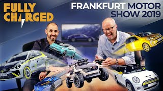 Frankfurt Motor Show Electric Car Deluge | Fully Charged