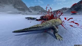 Динозавры против животных. Крокодилы против животных. Битва динозавров. Beast Battle Simulator #4