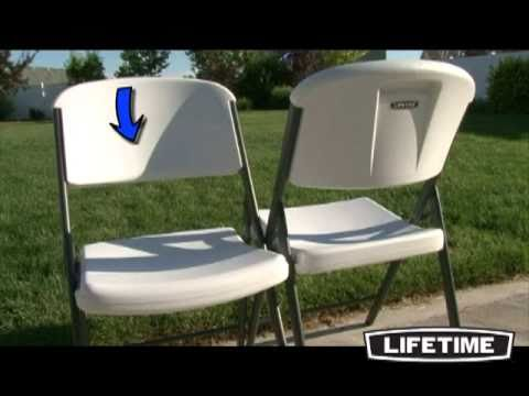 lifetime plastic folding chairs amazon com lifetime 42804 folding