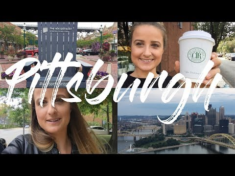WEEKEND IN PITTSBURGH, WALKS, CANDY STORES AND THE BEST VIEWS | VLOG 3