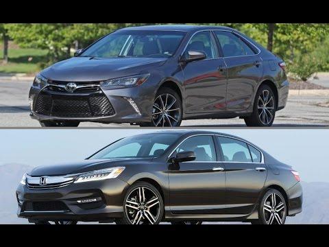 2017 Toyota Camry Vs Honda Accord