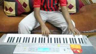 Tumi robe nirobe - Rabindrasangeet instrumental ( on keyboard/ piano ) by ambar