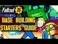 FALLOUT 76 Base Building Tutorial (Fallout 76 Starters Guide Base Building )