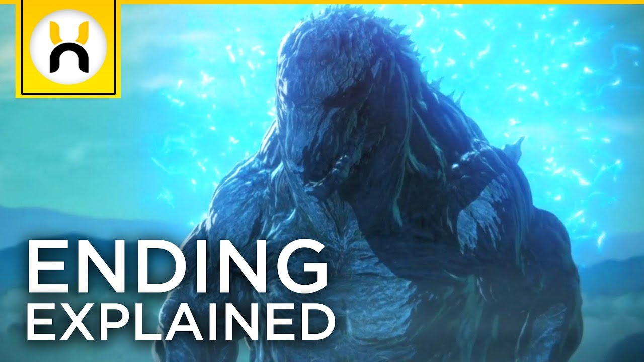 """SPOILERS) """"Godzilla: Planet of the Monsters"""" Ending & Post Credits"""