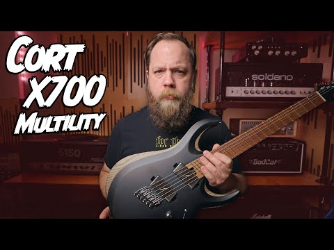 FANNED FRET MADNESS! Cort X700 Multility!