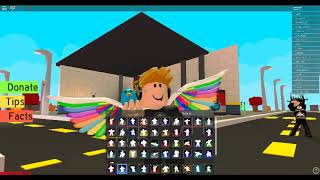 The forntie dances at Roblox
