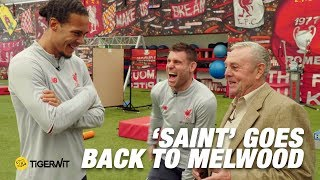 Ian St John meets Klopp, Van Dijk and Andy Robertson | Saint goes back to Melwood