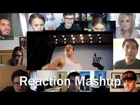 Bohemian Rhapsody Trailer REACTION MASHUP