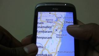Nokia Maps Running On HTC Mozart