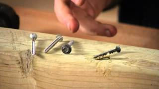 What Kind Of Screws For Treated Wood? : Woodwork & Carpentry