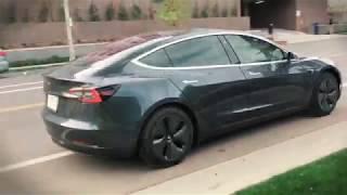 Test: Tesla model 3 by Avant2Go